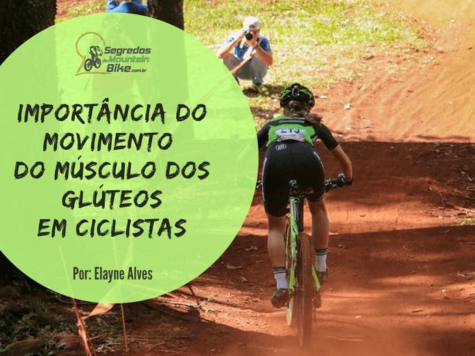 Importância do movimento do músculo dos glúteos em ciclista.